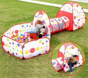 competitive price ea6a5 6c40e Best Gifts For A 2-Year-Old Girl Folding Kids Play Tent with ...