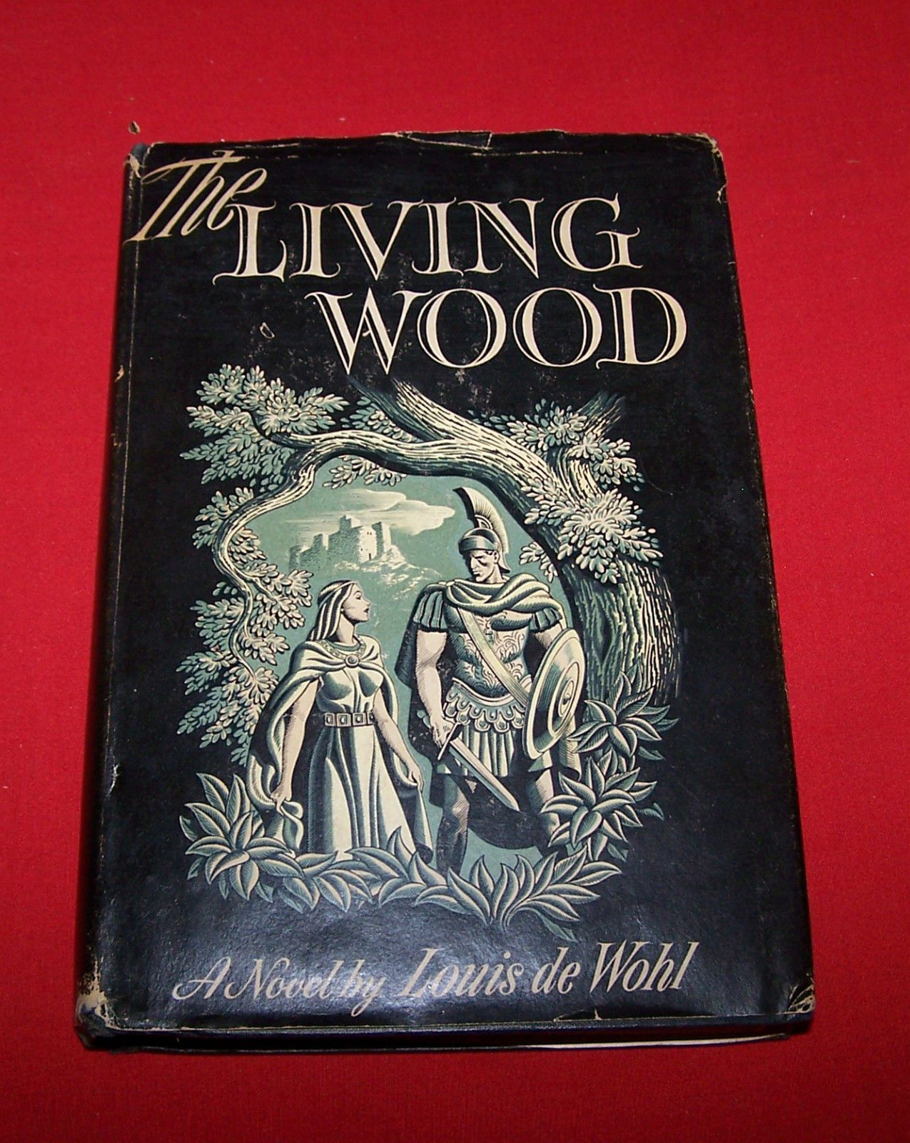 Louis De Wohl The Living Wood