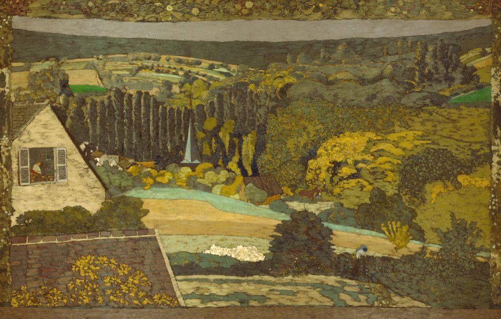 Window overlooking the Woods (1899) - Édouard Vuillard