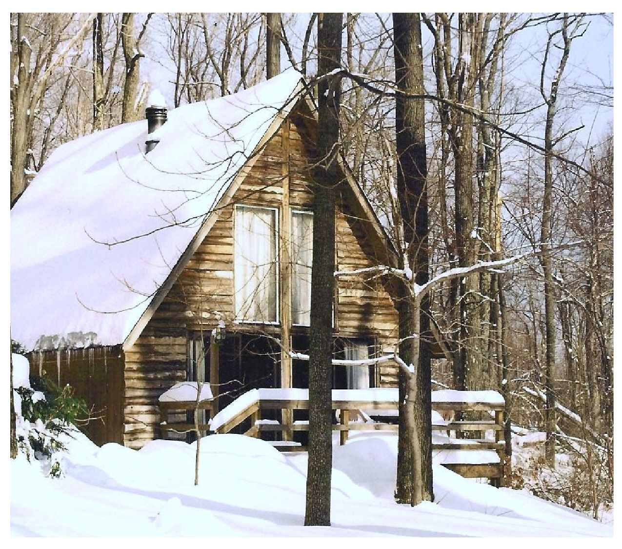 Sunny Maple Chalet Luxury Log Rental Cabin At Ole Mink