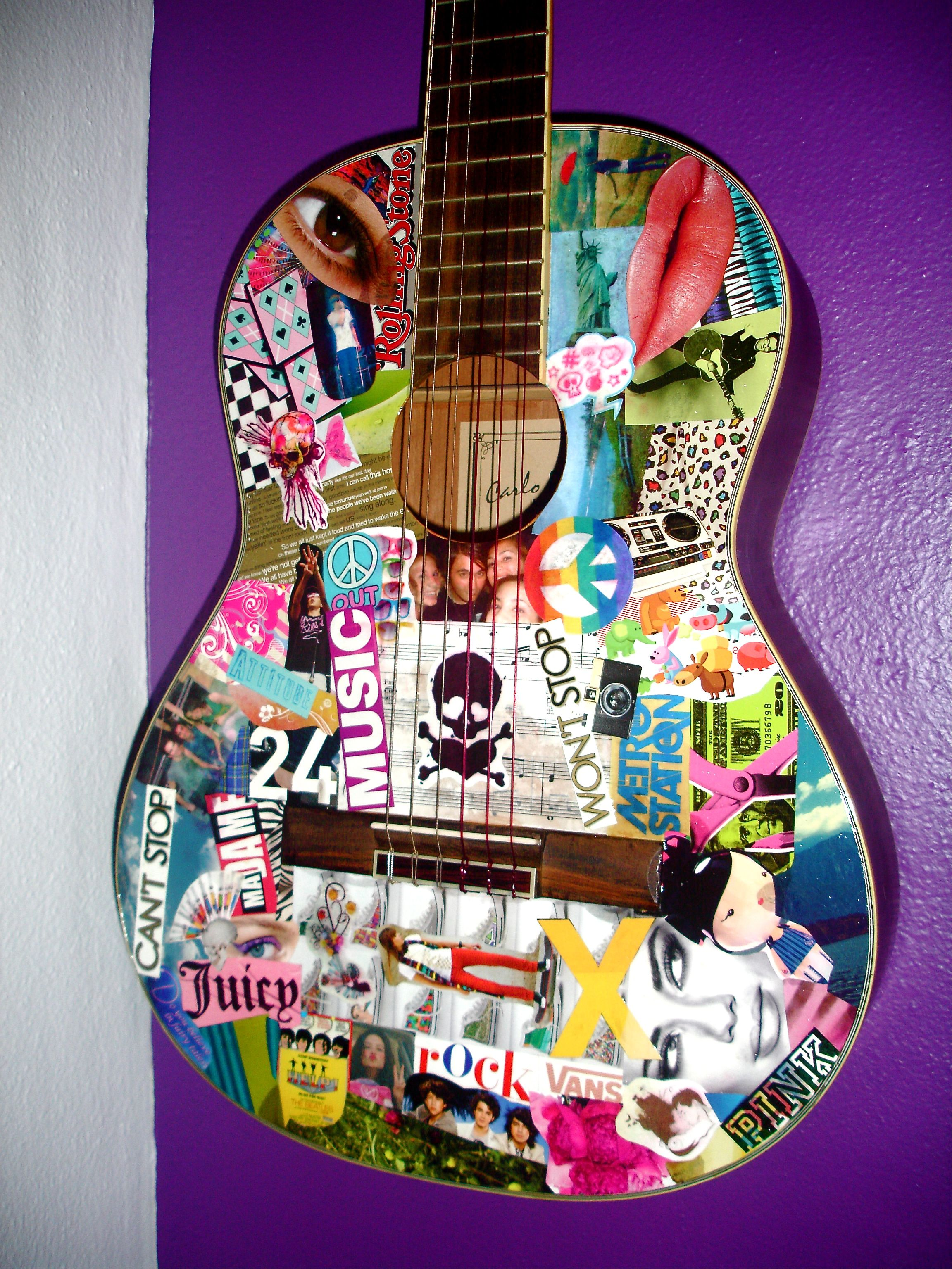 Fun I Saw A Really Cool One In Texas Acoustic Guitar Art Ukulele Art Guitar