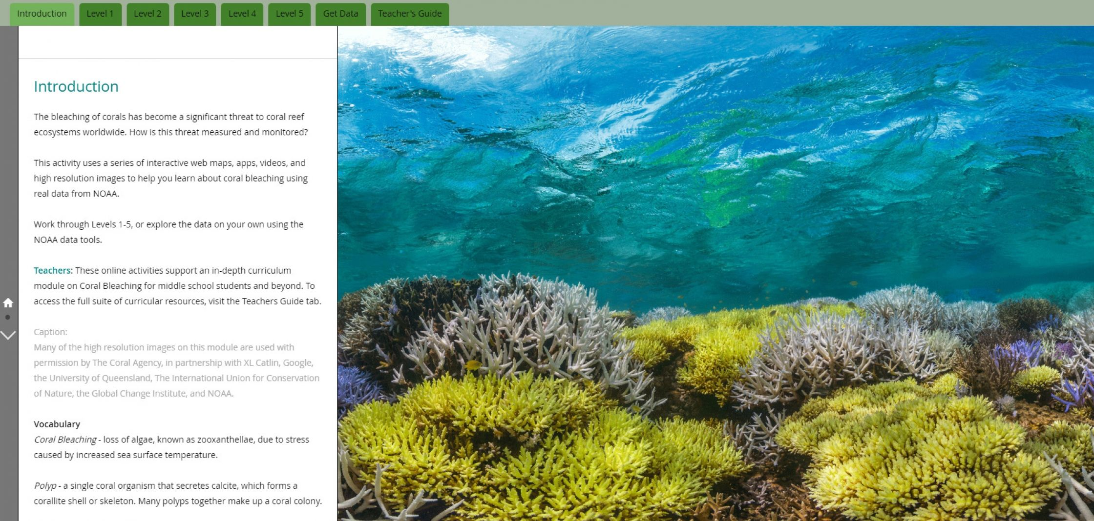 Classroom Ready Data Resources On Oceans Noaa A