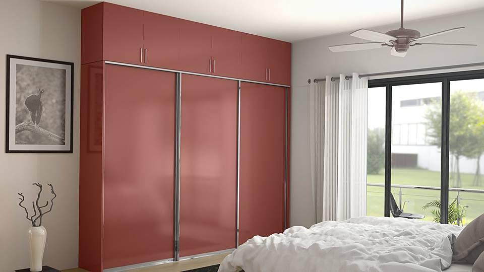 Almirah Design House Bedroom Furniture Decor Fashion Shimla - Closet door designs can completely change decor