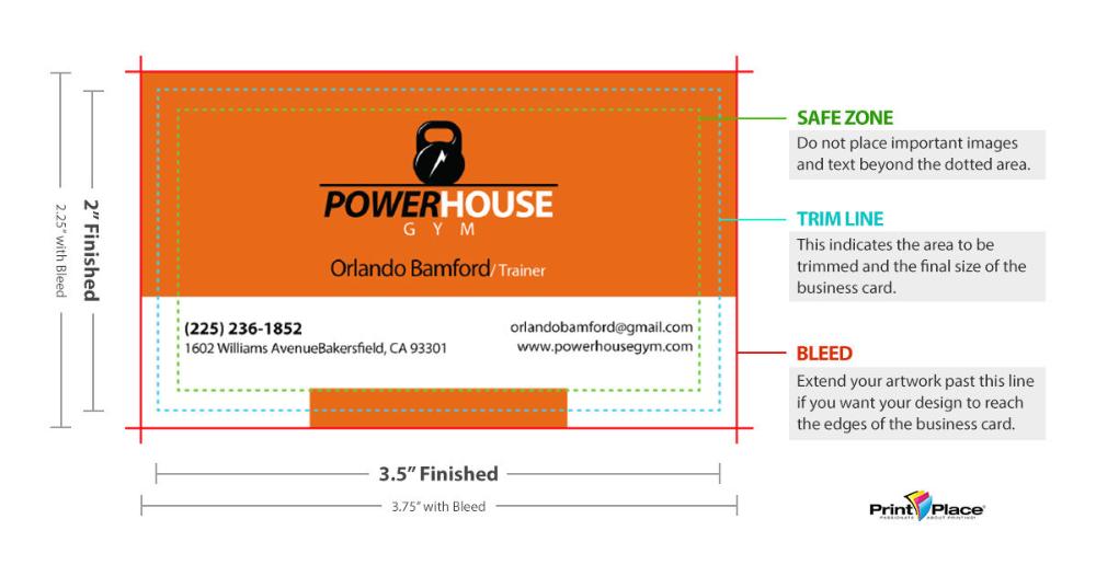 Standard Business Card Sizes Around The World Printplace Com Business Card Fonts Business Card Infographic Standard Business Card Size