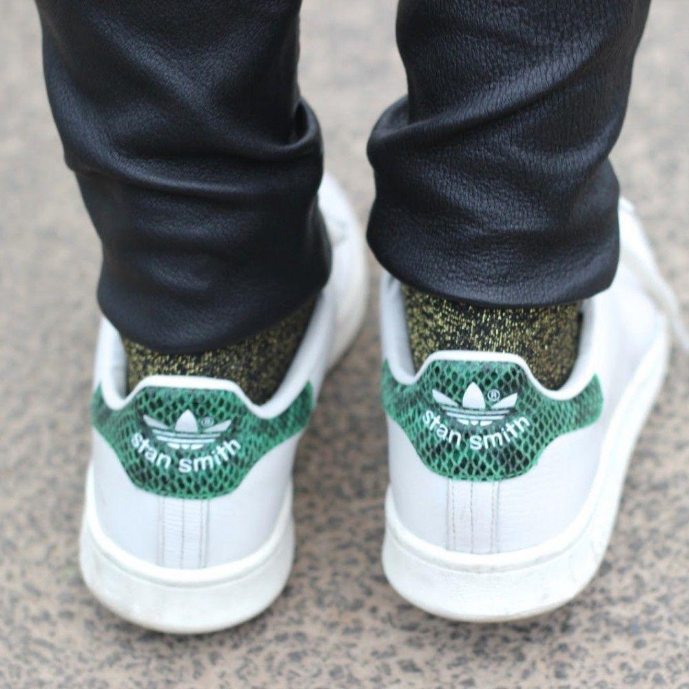 adidas stan smith zwart glitter
