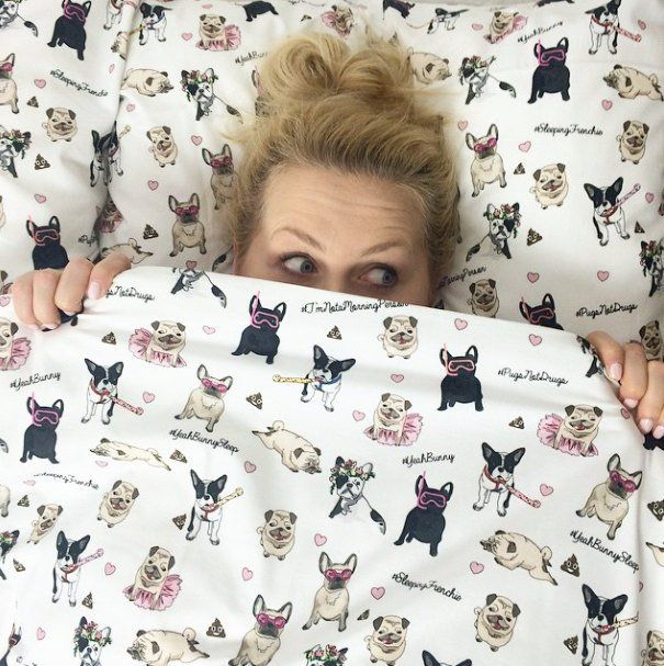 Fancy Dogs Attack Bedding Set Yeah Bunny Frenchie