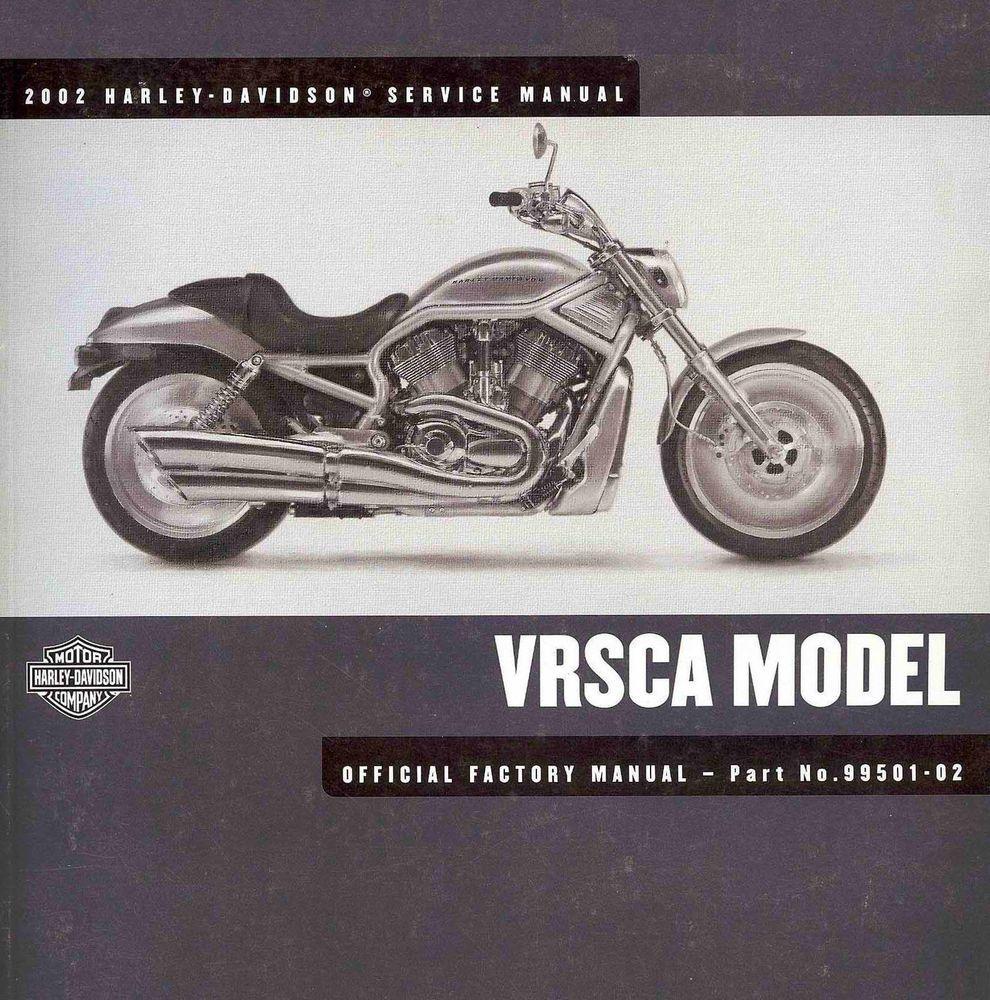 2002 HARLEY-DAVIDSON VRSCA V-ROD SERVICE MANUAL -VRSCA VROD