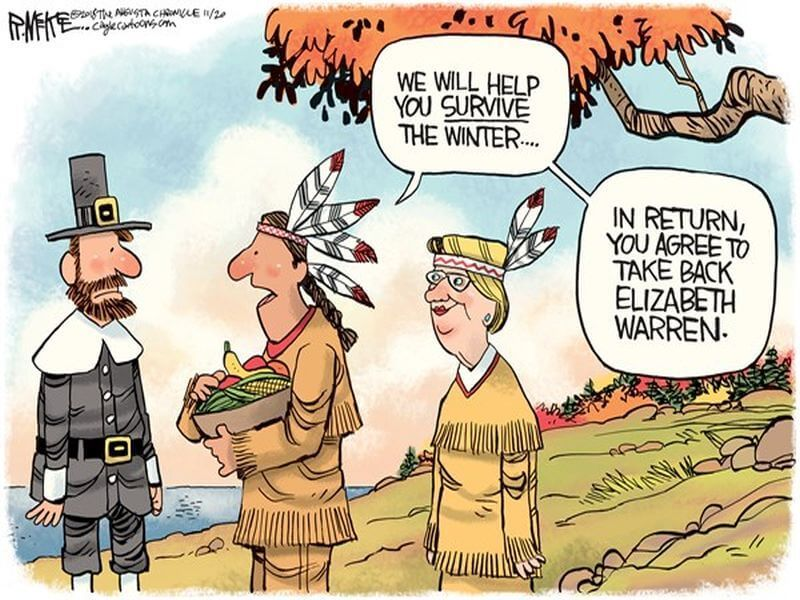 The Left's Annual Thanksgiving Guilt Trip: A Guest Post by Time Foolery