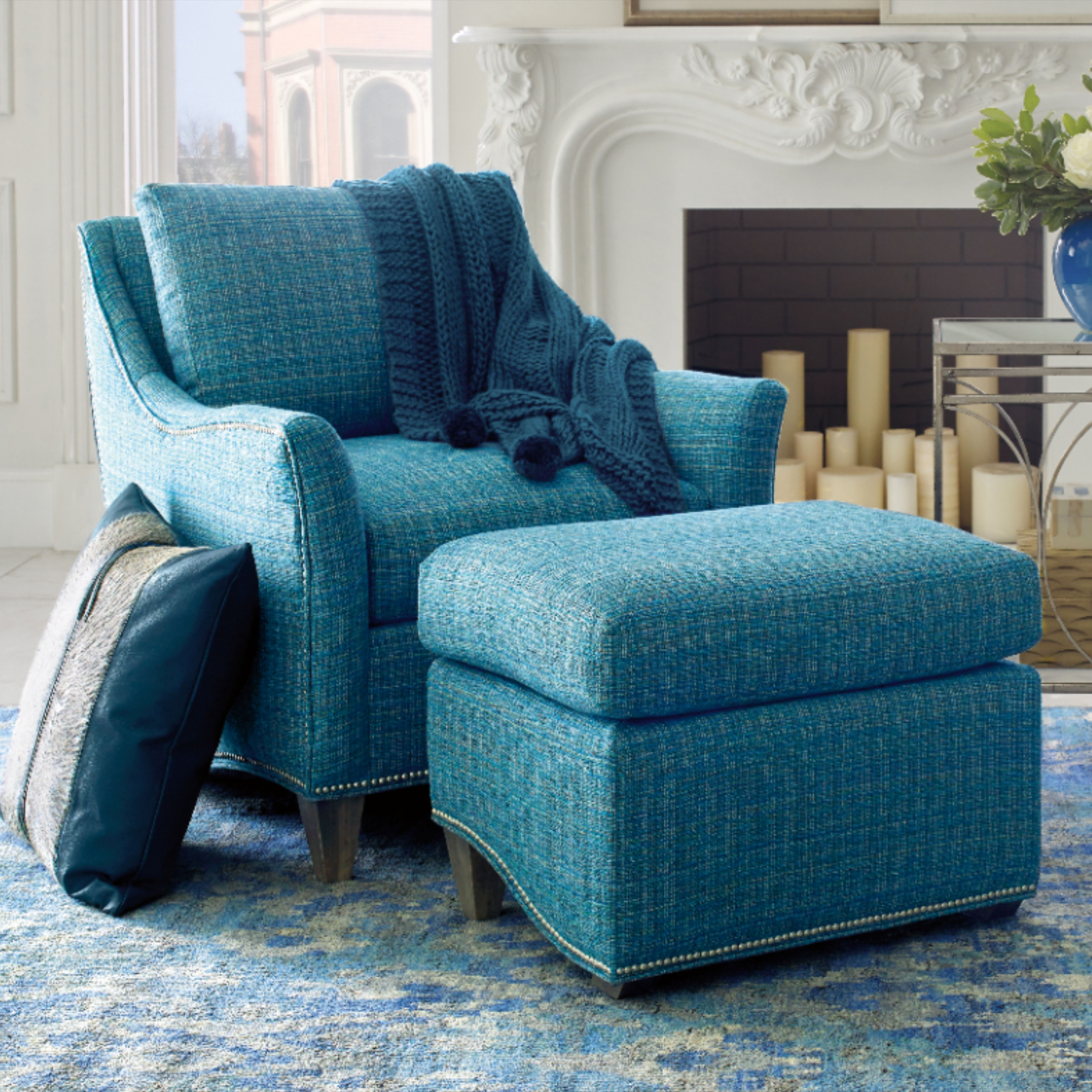 Company C Whistler Chair In 2020 Chair Turquoise Fabric Family Room #turquoise #chairs #for #living #room