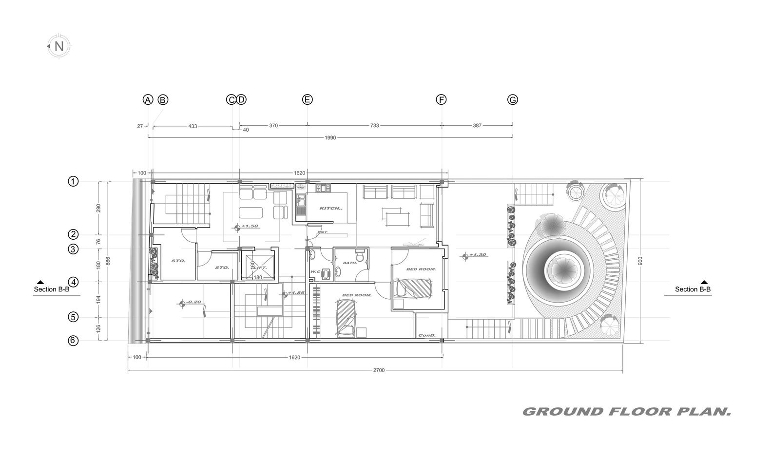 Gallery Of Apartment No 84 Miristudio 24 Ground Floor Plan Floor Plans Apartment Architecture