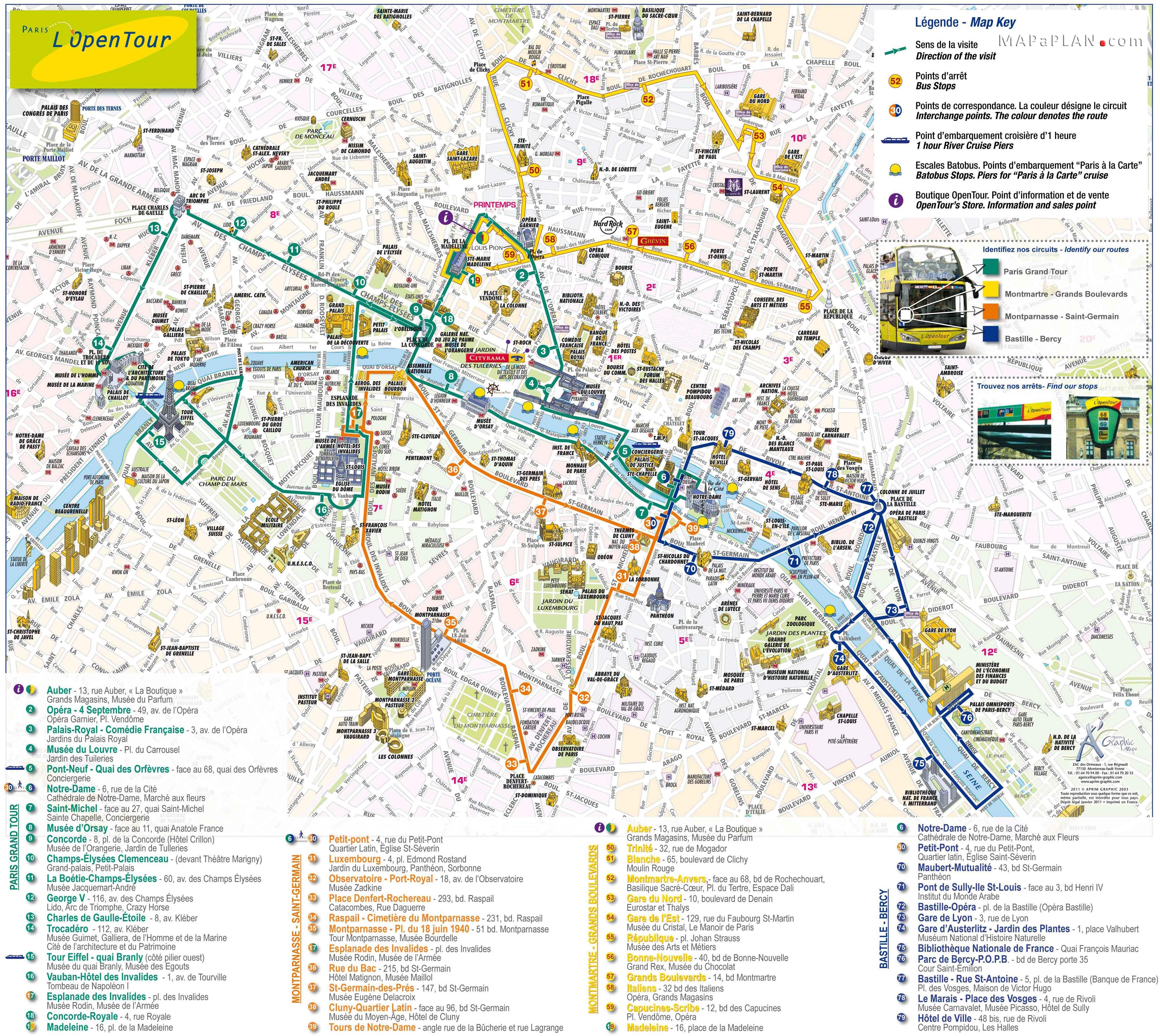 Tourist Attractions In France Map - Attractions Near Me