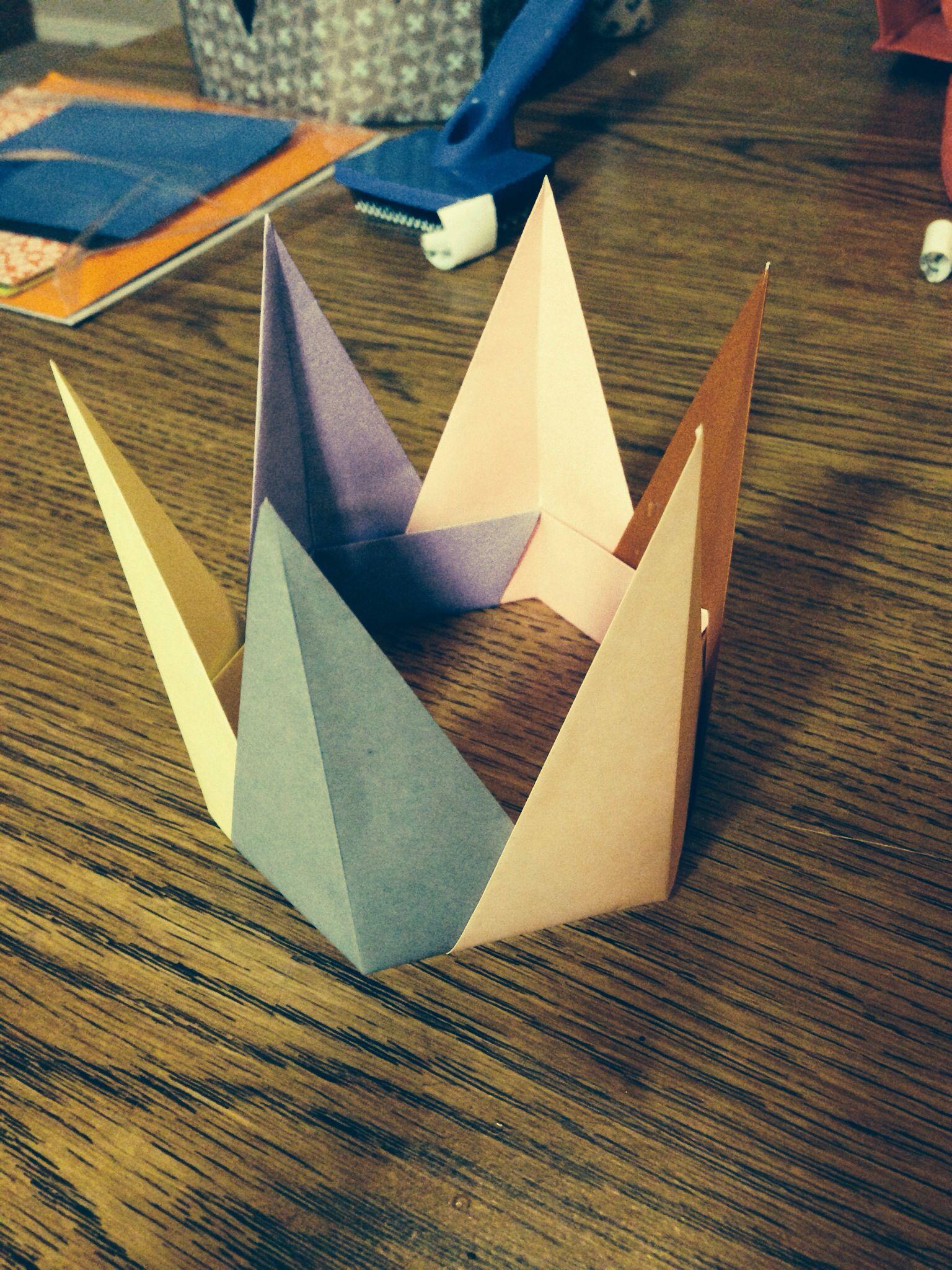 Origami Cat Crown