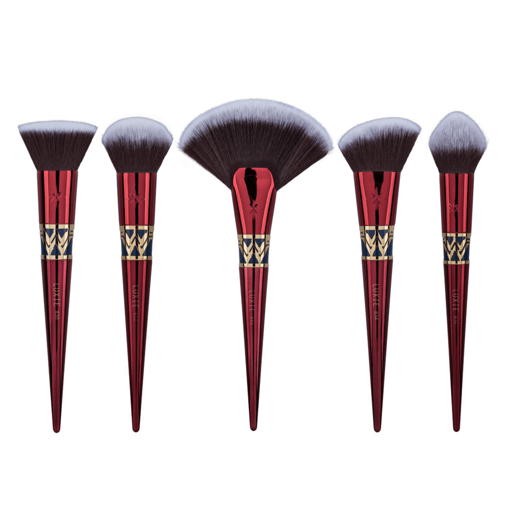 Luxie Wonder Woman Brush Set Face brush set, Makeup