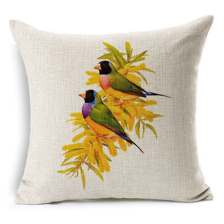 2015 Hand Painted Cushion Car Covers Flowers Pillowcases