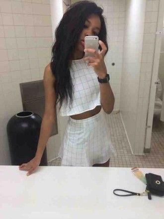 dress grunge soft grunge pale grunge soft ghetto white dress white black t-shirt shirt skirt tank top