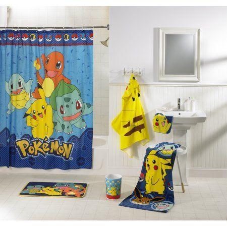 Pokemon Kids 5 Piece Bathroom In A Bag