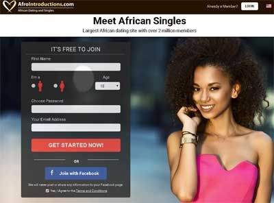 Afrointroduction. com Dating Site.)