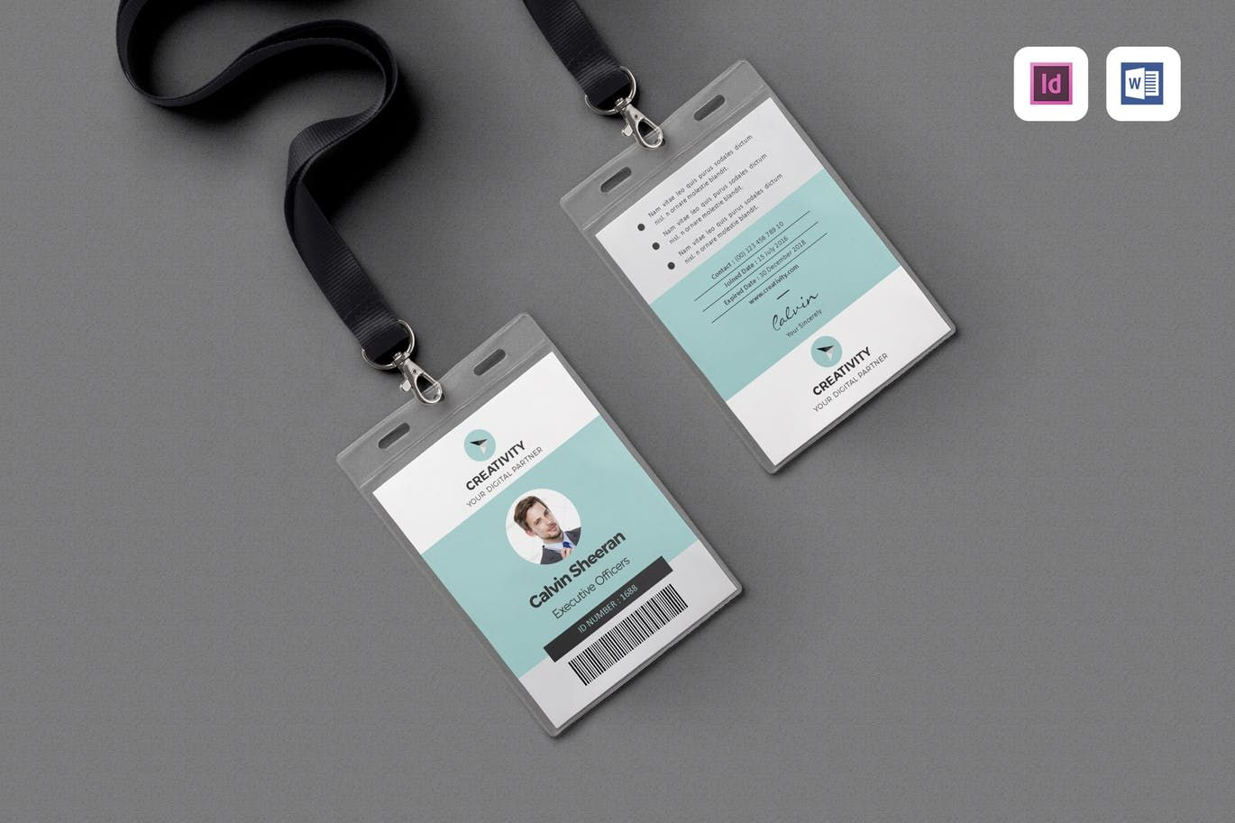 Event Flyer By Leaflove On Envato Elements Id Card Template Event Flyer Cool Business Cards