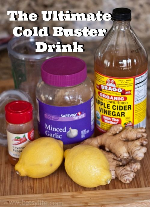 This all natural drink is the only cold remedy you'll ever need.