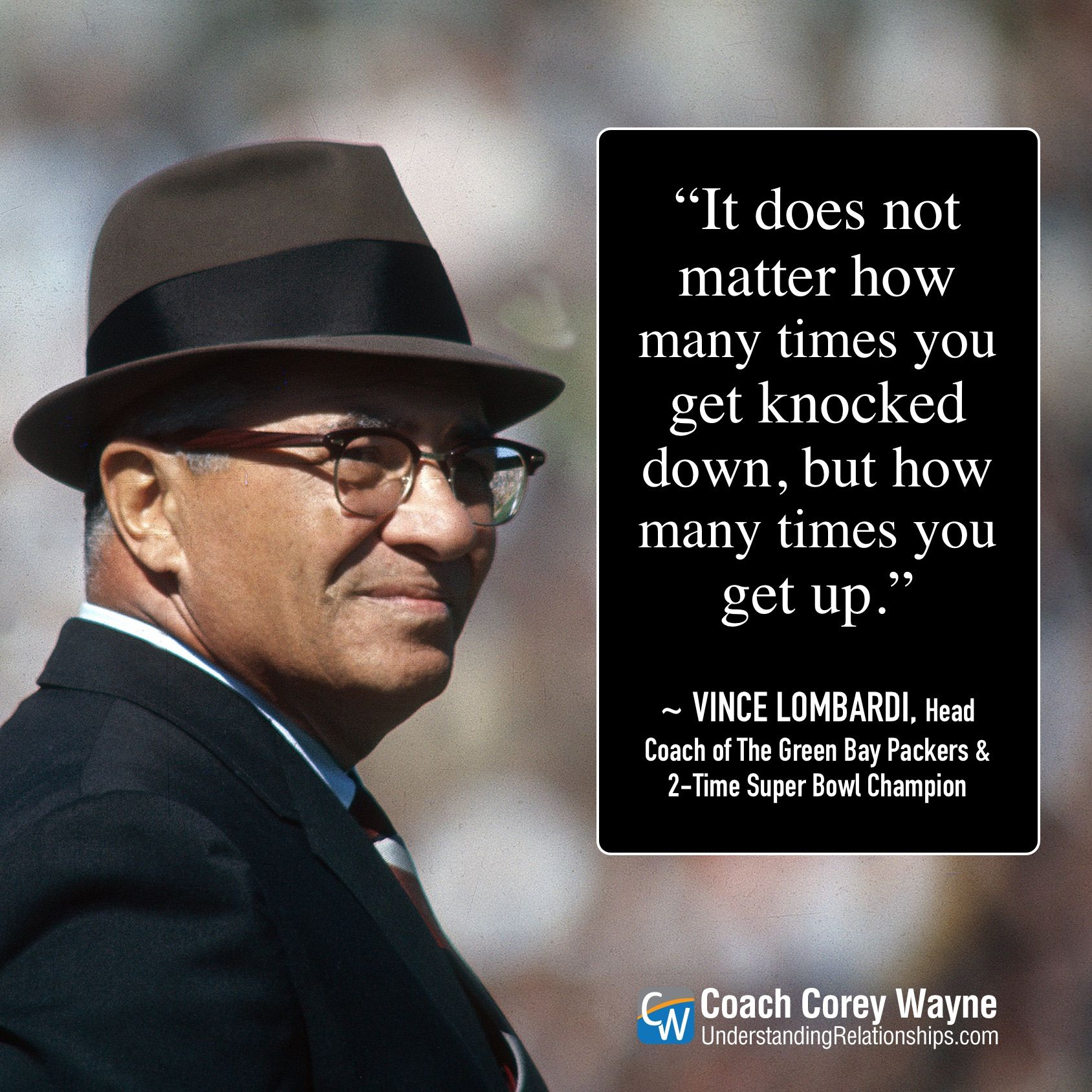 Vincelombardi Nfl Football Greenbaypackers Coaching
