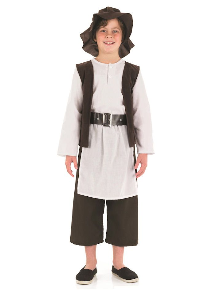 Deluxe Tudor Boy Childrens Dress Up Costume By Fun Shack Dress Up Costumes Fancy
