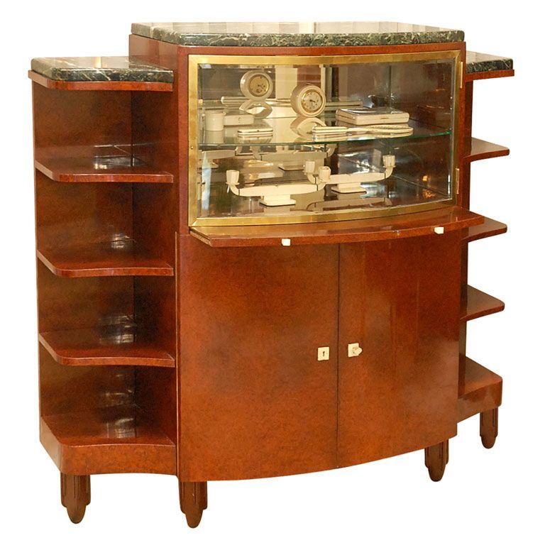 Maurice dufrene vitrine meubles antiquit s et rangements for Entreposage de meuble