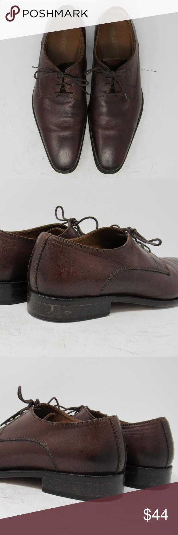 0a2e5e42981 🇮🇹 Broletto  David  derby shoe mens size 9M