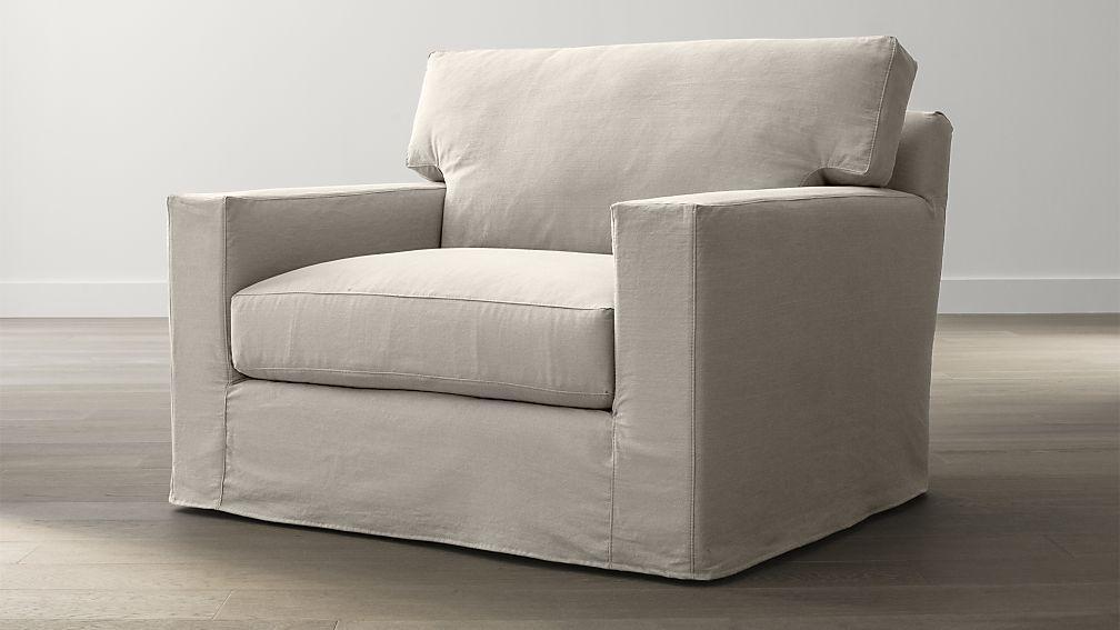 barrel chair swivel slipcover