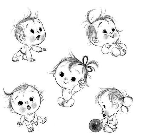 Как рисунки ребенка карандашом прикольные, день