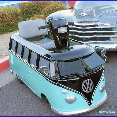 scoot mobiel VW camper :-)