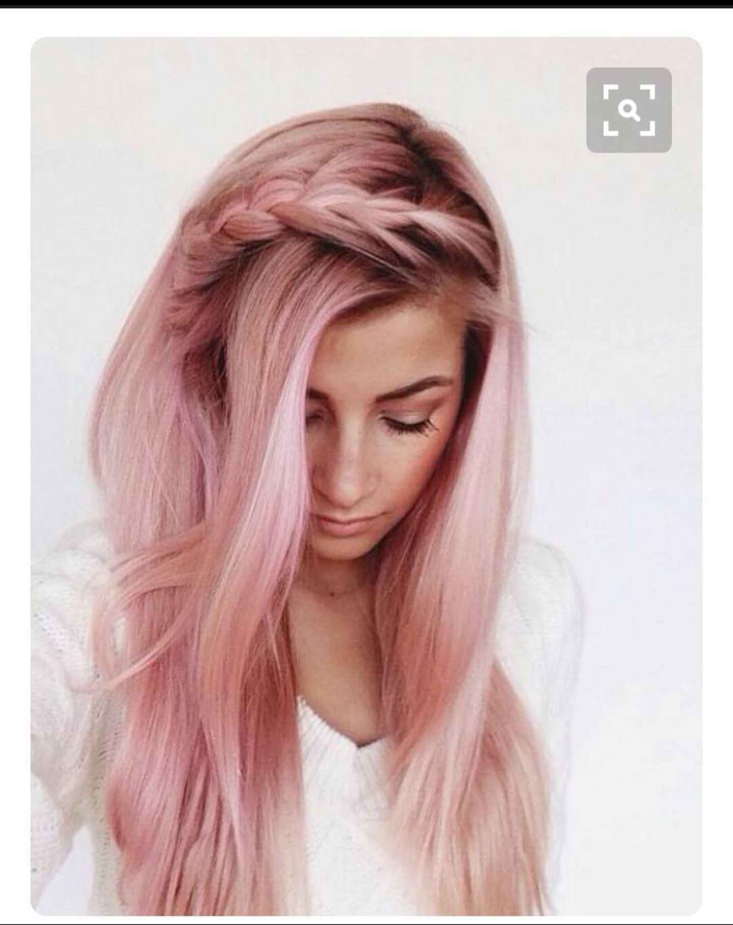 Light pink (strawberry shortcake and cream) hair   Features ...