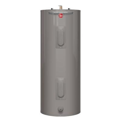 Rheem Performance 50 Gal Medium 6 Year 4500 4500 Watt Elements Electric Water Heater Xe50m06st45u0 The Home Depot Water Heater Electric Water Heater Water Heater Thermostat