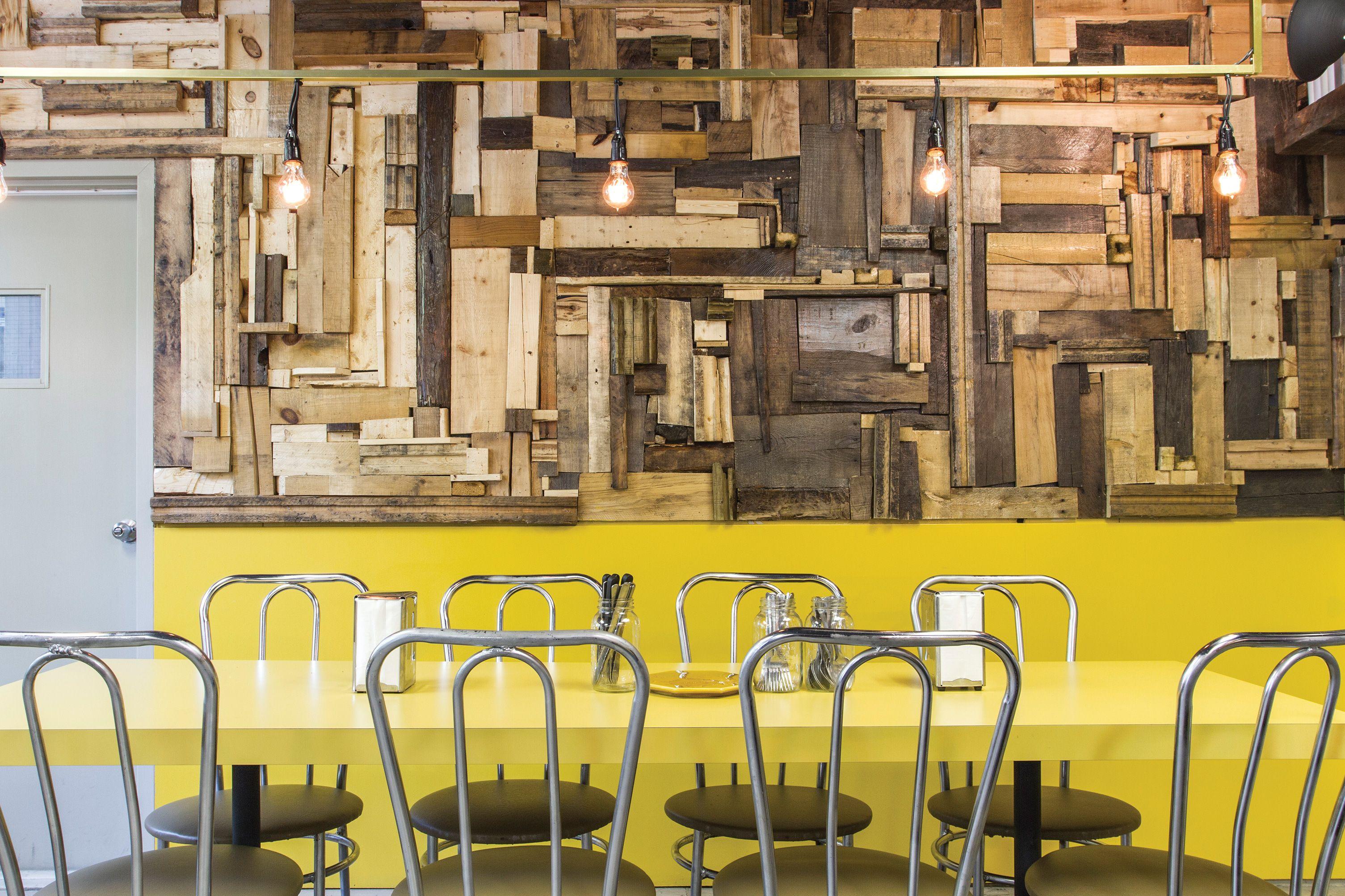 Le Mile-Ex / Montreal. via Rake&Co. #restaurant #interiors ...