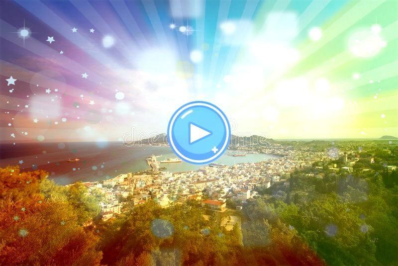 City capital of the island Zakynthos City capital of the island  2 Greece 5x bezichtigen en doen op Zakynthos  Fotografille  uitzicht over Porto Zorro beach in Zakynthos...
