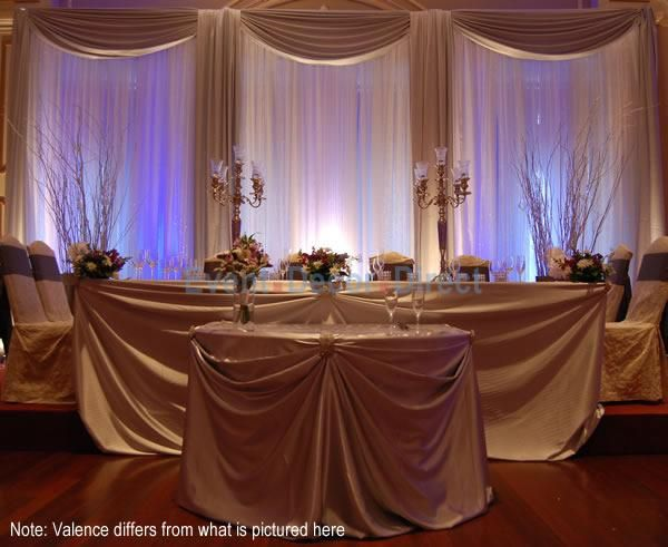 Pipe And Drape Wedding Decoration  from i.pinimg.com