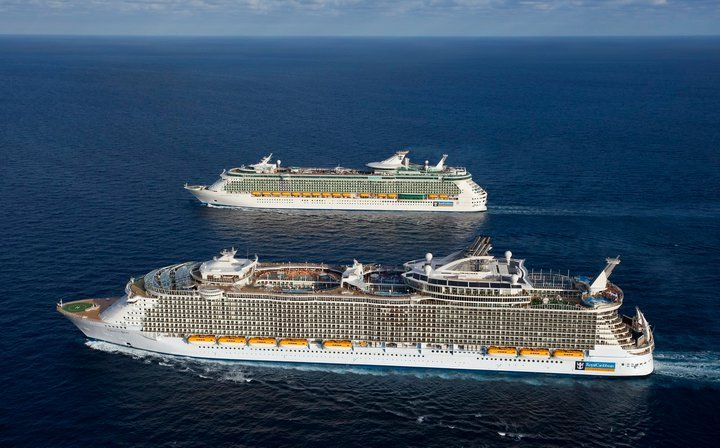 Royal Caribbean S Independence Of The Seas And Oasis Of The Seas