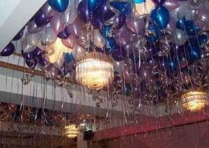 Fiesta Confeti Azul lleno de globos-lugar Deco Boda Hen Noche Baby Shower