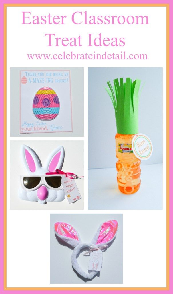 Classroom easter gift ideas classroom treats and easter classroom easter gift ideas celebrateindetail eative classroom treat ideas negle Images