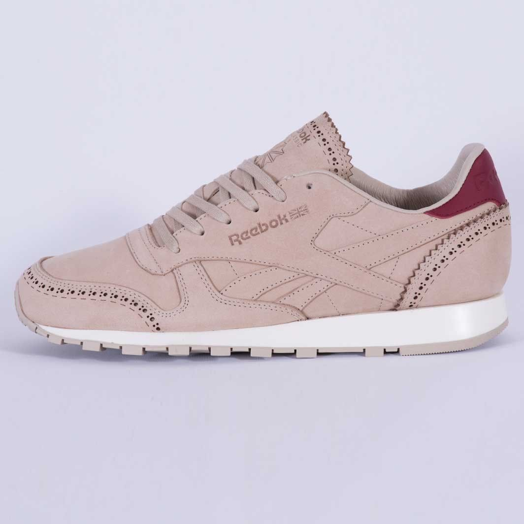 29a32391e02e7 Reebok Classic Leather Lux Horween Just Golden Brown Chalk AQ9960 ...