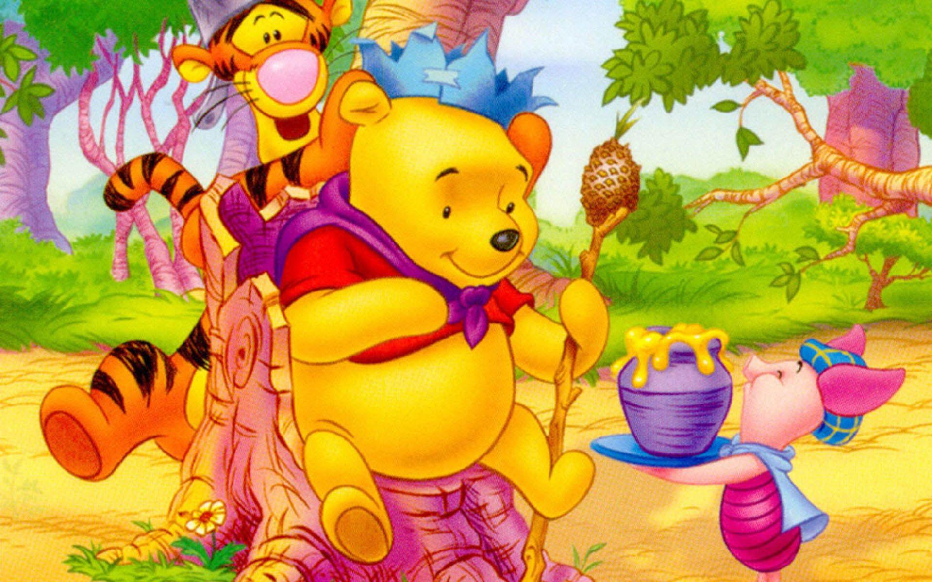 Pooh Hd Wallpaper Download