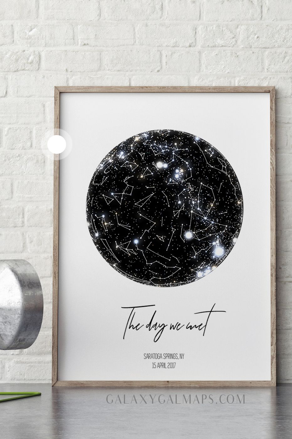 Star Map By Date PERSONAL Star Map by DATE and Location   Custom Star Map | REAL