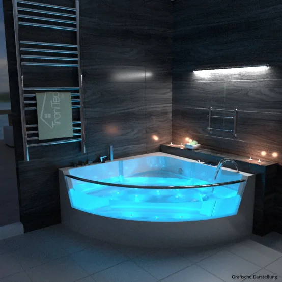 5 Aussergewohnliche Badewannen Zum Staunen Und Entspannen Homify In 2020 Modernes Badezimmerdesign Luxusbadezimmer Whirlpool Badewanne