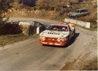 WEST Rallye Antibes, 1984: Carlo Capone