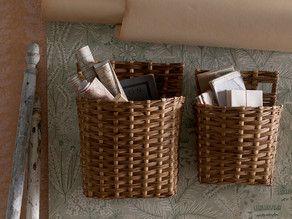 Fortnight Wall Baskets