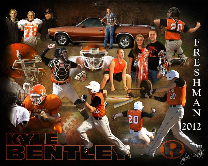 Sports Collage Montage Photography Sport Portraits Sport Photography