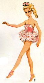 barbie's ballerina outfit 2  free pattern with tutorial