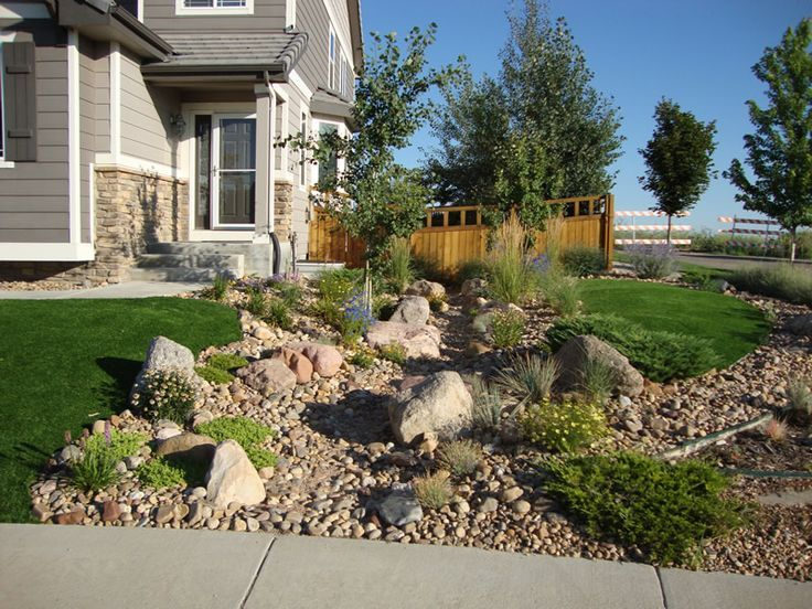 xeriscaping with rock landscaping