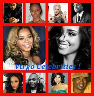 celebrities with a virgo horoscope