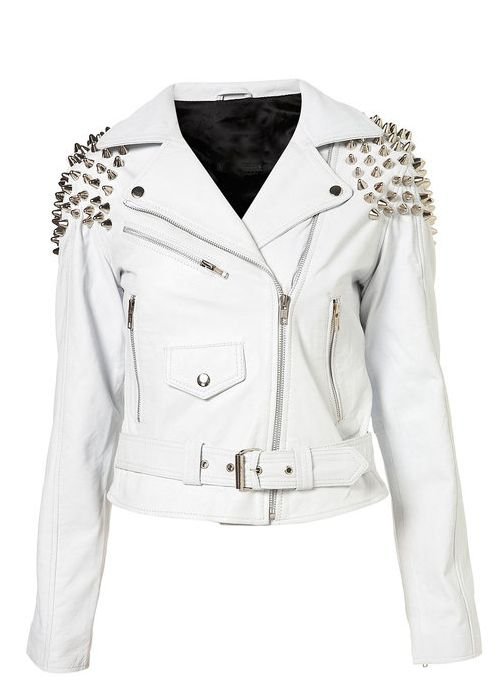 1000  images about Motorcycle jackets on Pinterest | White leather
