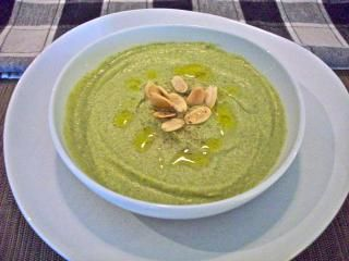 Unbelievably Scrumptious Broccoli Buttermilk Soup With Toasted Almonds Recipes Cooking Favorite Recipes
